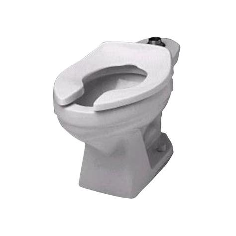 shop crane plumbing santon jr white elongated toilet bowl