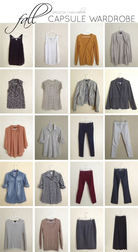 Capsule Wardrobe Pieces by Fall Capsule Wardrobe Remix The Pieces Greater Than Rubies