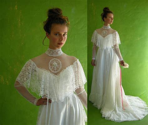 Brautkleider 70er Stil by Style Vintage 70s Wedding Dress By