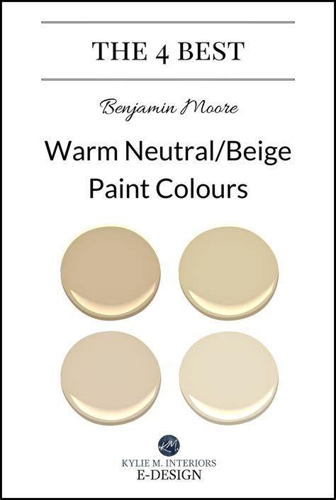 the best warm neutral beige or tan paint colours kylie m