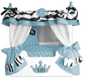 Canopy Dog Bed Blue Fifi Canopy Dog Bed Personalized Dog Bed