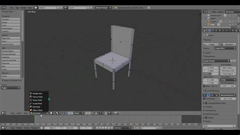 blender tutorial youtube com blender basic chair tutorial for beginners youtube