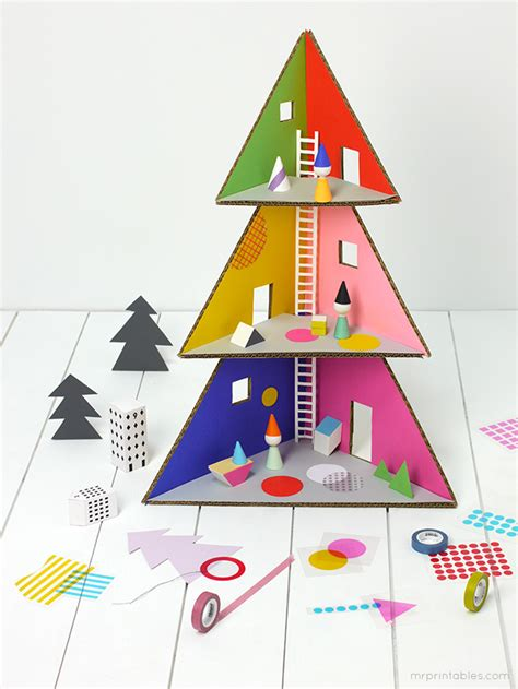 dolls house christmas tree christmas tree doll house mr printables