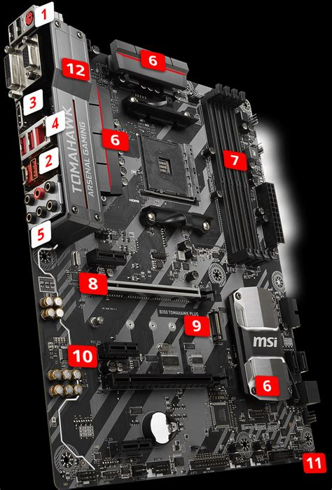 Ready Msi B350 Tomahawk Arctic overview for b350 tomahawk plus motherboard the world leader in motherboard design msi global