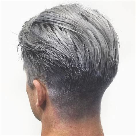 undercut hairstyles for men with gray hair 923 best mens colored hair images on pinterest coloured