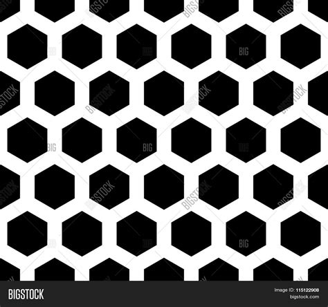 octagon pattern vector seamless monochrome pattern background with octagon