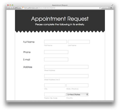 Seminar Appointment Info Request Cards Templates by 20 Amazing Looking Free Form Templates
