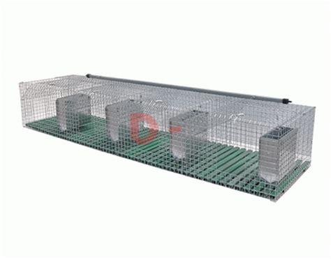 accessori gabbie conigli gabbie gabbia conigli fattrici 4 fori cm 200x50xh34