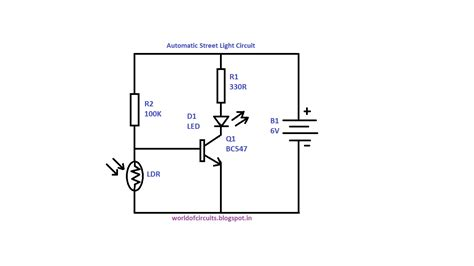 light dependent resistors circuit diagram world of circuits automatic light circuit