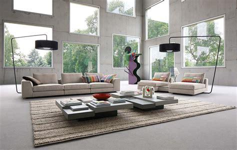 photos canap 233 modulable cuir contemporain roche bobois