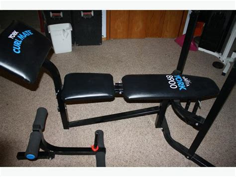 york workout bench york 8900 fitness bench with leg extension saanich victoria