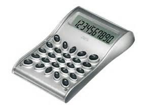 calcolatrici da tavolo calcolatrice da tavolo di design how silver nava