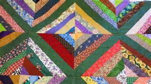 my patchwork quilt how to make a string quilt block