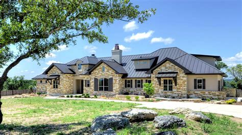 hill country homes garner homes hill country traditional