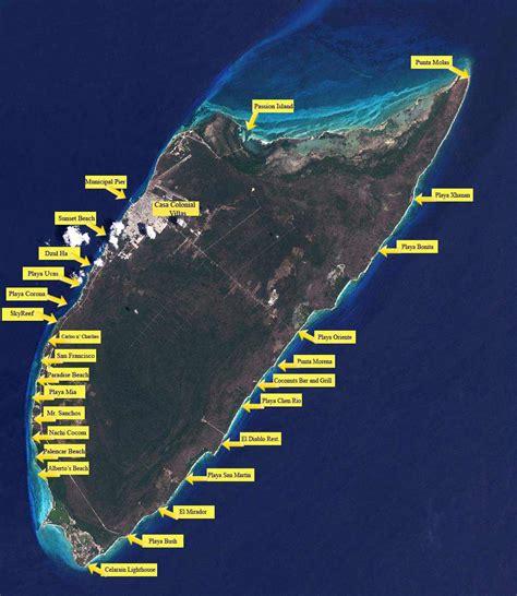 cozumel best beaches cozumel beaches an interactive map