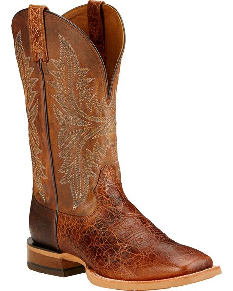 mens ariat western boots ariat s cowhand western boots boot barn