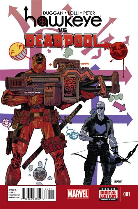 hawkeye vs deadpool sneak peek hawkeye vs deadpool 1 major spoilers