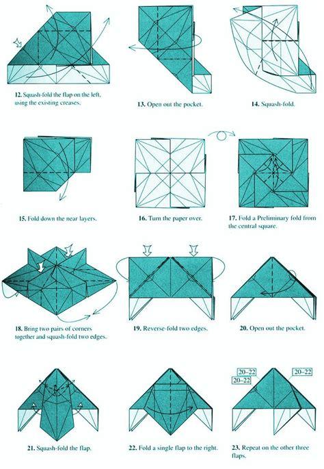 Robert J Lang Origami Diagrams - longhorn beetle by robert lang