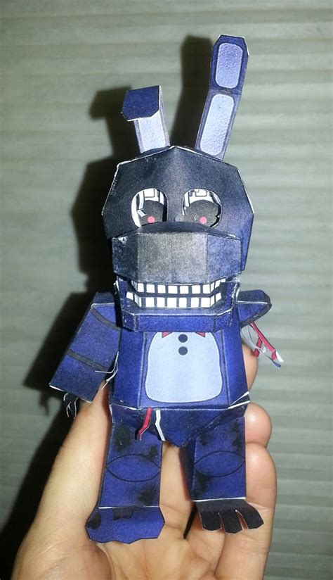 Wallpaper Bonny 1062 withered bonnie papercraft with by badandy0925 on