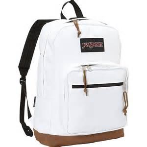 jansport white backpack usa