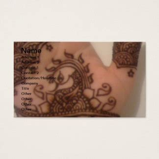 henna design business henna tattoo business cards business card printing