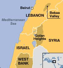 middle east map golan heights news middle east q a syria and lebanon