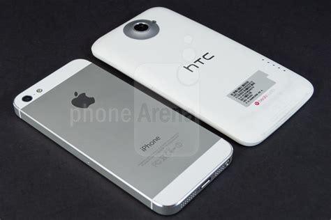 Apple Five apple iphone 5 vs htc one x