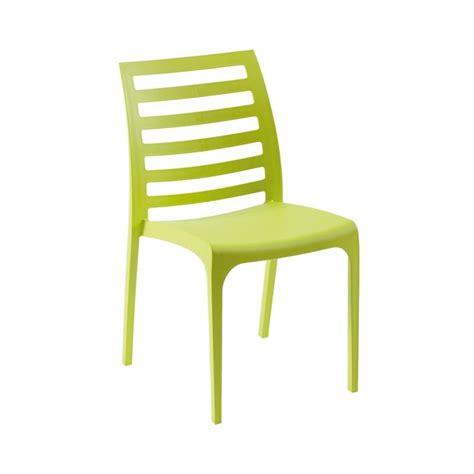sedia in plastica sedia in plastica schienale con doghe a motivo