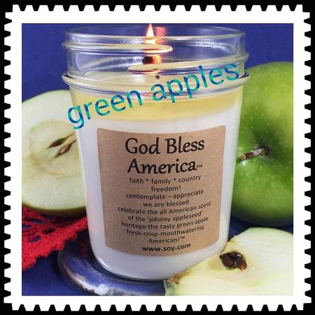 bless candles quot god bless america quot soy wax candle