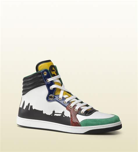 exclusive sneakers gucci mens exclusive city collection coda hightop sneaker