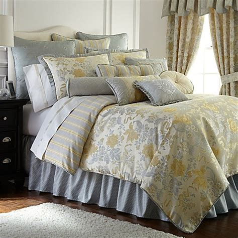 waterford comforter set waterford 174 linens eveleen comforter set bed bath beyond