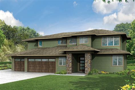 prairie house plan prairie style house plans brookhill 30 963 associated designs