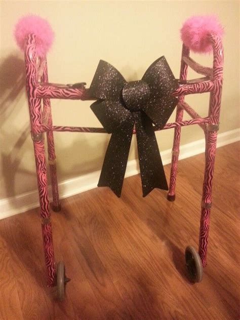 Decorated Walkers by Decorated A Handicap Walker As A Retirement Gift Used