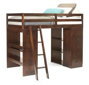 g226300 twin loft bed w storage