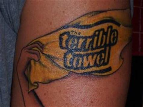animal tattoo pittsburgh pa steelers tattoos