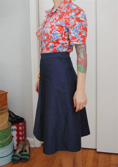 what is an a line skirt or dress dress