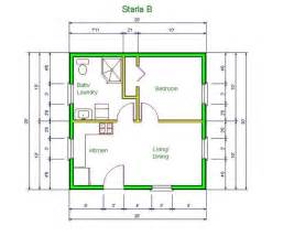 House With Mother In Law Suite 20 X 20 House Design Idea Starla Model Quot B Quot Floor Plan