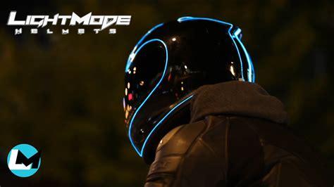 motorcycle helmet light kit lightmode helmet mod install review youtube