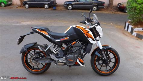 Ktm Duke 200 Orange Team Bhp Reduked My Orange Ktm Duke 200