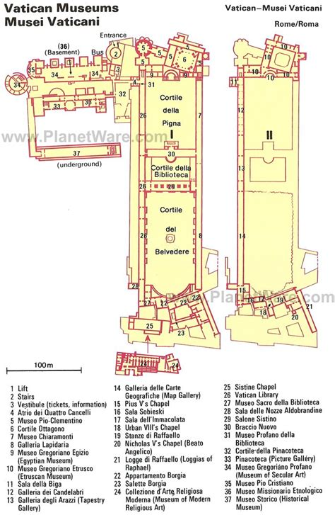 vatican museum floor plan 10 top rated museums and palaces in rome planetware