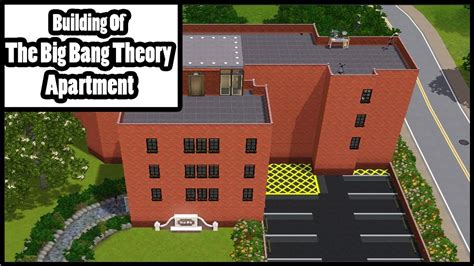 The Big Bang Theory Apartment Sims 3 Building Of The Big Bang Theory Apartment Youtube