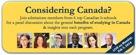 Mba Md Programs In Canada by Live Event Today Canadian Mba Alliance Admissions Q A