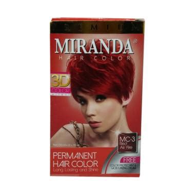 Pewarna Rambut Miranda Black jual miranda premium mc 2 cat rambut blue 30 ml gm salon supplier di blibli omjoni
