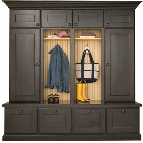 entryway storage cabinet with doors locker cabinets mudroom storage dura supreme cabinetry