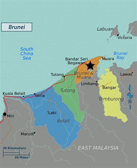brunei on the world map maps of brunei map library maps of the world