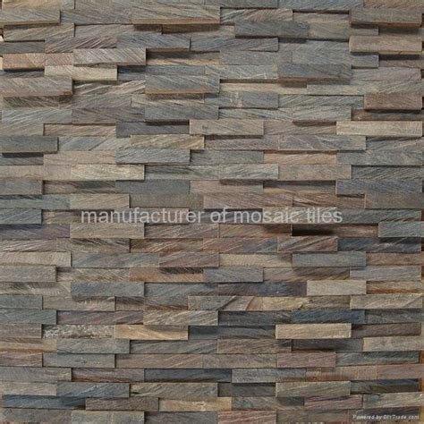 Self Adhesive Kitchen Backsplash wood mosaic floor wall panel gmr 06 gimare china