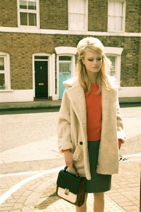 coat hair style photos 1960s amazing repro pic what an outfit and hair vintage