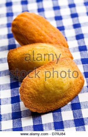 madeleines or petite madeleine a traditional cake from the