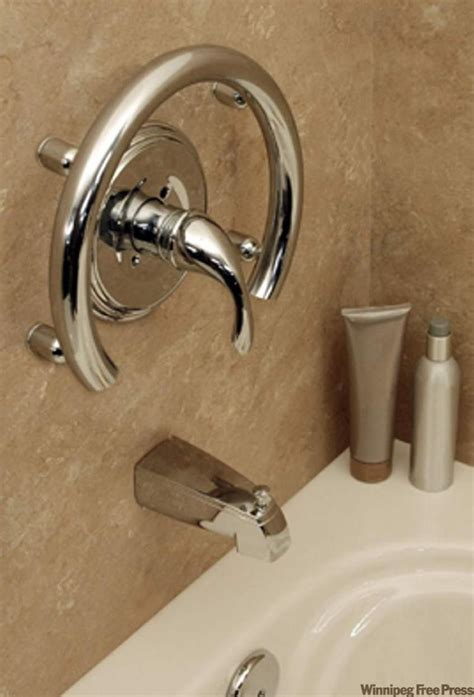 16 Functional Diy Pipe grab bars deliver elegance safety to bathrooms winnipeg