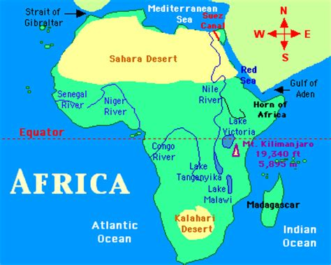 rivers of africa map africa congo river map image search results